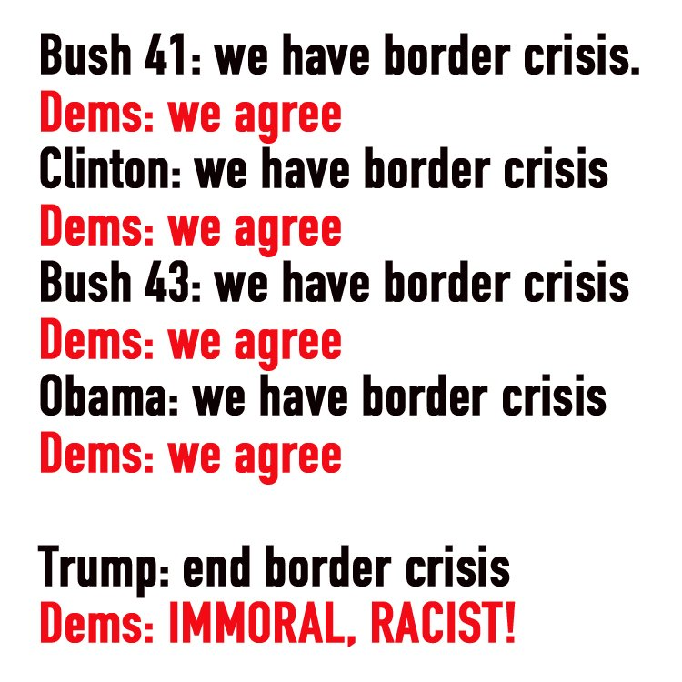 Image result for there is no border crisis meme